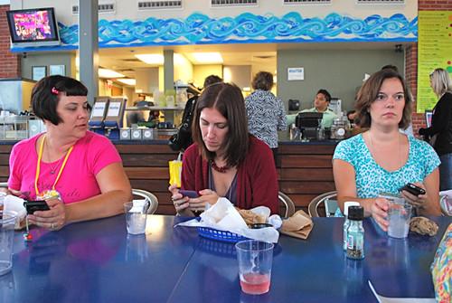 Lunch w/Fabric Hound, Jessica Levitt, and Above all Fabrics
