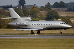F-GPNJ - 50 - Private - Dassault Falcon 900EX - Luton - 091015 - Steven Gray - IMG_2478