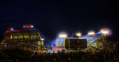 LP Field at Night