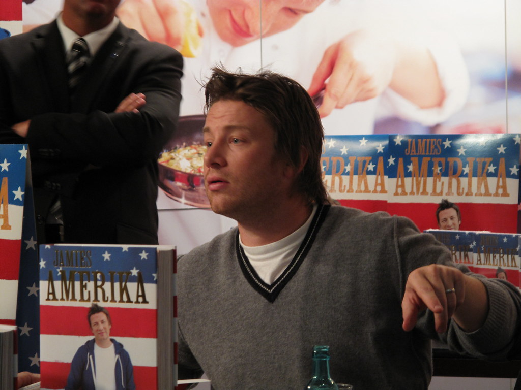 Jamie Oliver in Berlin