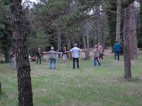 Qigong in the garden