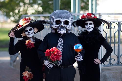 Dia de Los Muertos Austin 2009-6