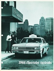 1966 Chevrolet Taxicabs (aldenjewell) Tags: chevrolet 1966 brochure taxicabs