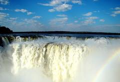 Garganta do Diabo-Foz do Iguau (Miriam Cardoso de Souza) Tags: arcoiris natureza gua lugaresdomundo turismonobrasil miriamcardosodesouza cataratasdefozdoiguaupr gargantadodiabofozdoiguau vapordagua