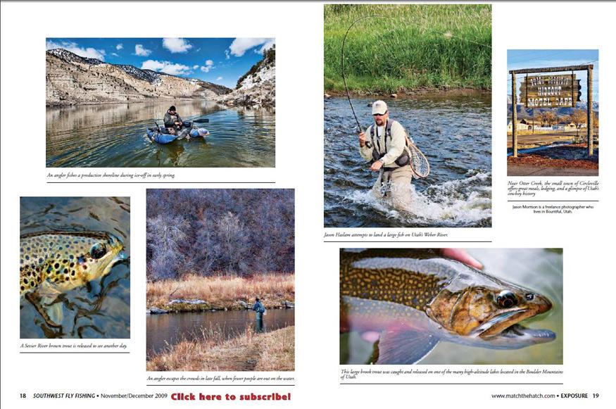 Southwest Fly FIshing Magazine Nov/Dec 2009