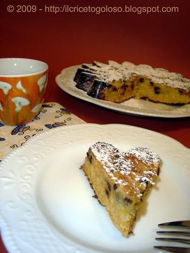 Torta di zucca con gocce di cioccolato (1)