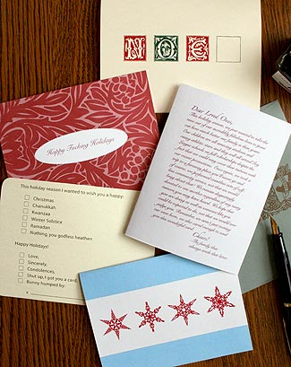 Holiday Cards, 2009