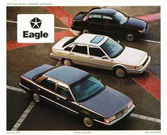 1989 Eagle Line (aldenjewell) Tags: eagle medallion summit 1989 brochure premier