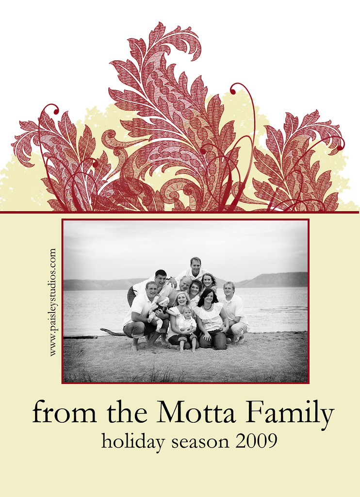 motta xmas cards back
