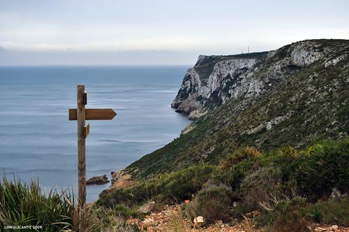 La Cova Tallada, Denia - Senderismo Alicante