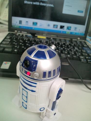 R2-D2型USB加湿器