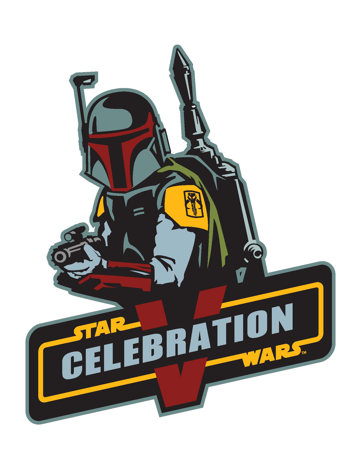 Logo for Star Wars Celebration V, next summer in Orlando