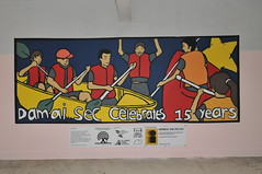 Damai Secondary sports murals