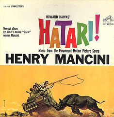 hatari (david haggard) Tags: albums movies henrymancini johnwayne hatari howardhawks elsamartinelli