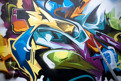Askew detail - Miami 2009 (Ironlak) Tags: art graffiti miami flight base primary askew ironlak
