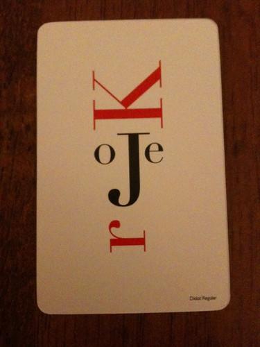Hat-Trick card trick