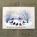 1875 William Boyd Dawkins Christmas Card