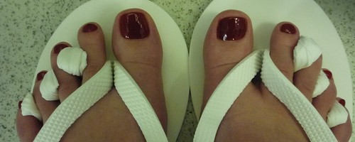 Bliss pedicure