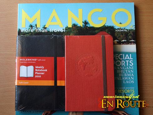 Nat Geo Notebook Moleskine and Mango