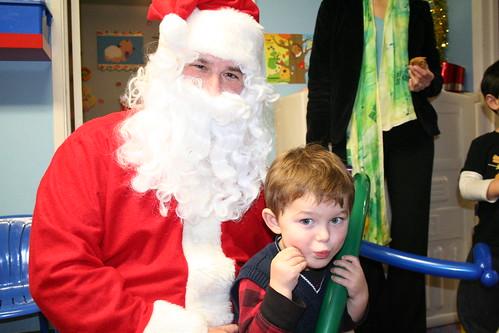 Santa has Daddys eyes