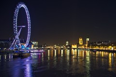 London Eye + Westminster