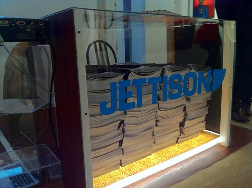 Jettison NEXT Booth. Chicago, IL. 2011. (Photograph courtesy by Jettison Quarterly)