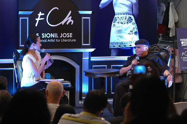 Lisa Macuja and F. Sionil José