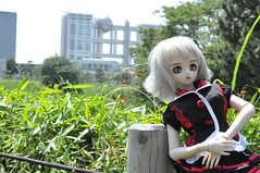Lovely Day in Odaiba (KajiKingStarzky) Tags: claire nikon day dream odaiba bjd lovely dynamite dd dollfie volks dddy d5000
