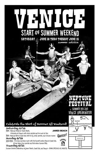 Venice Beach Neptune Festival