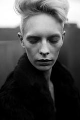 """David Bowies Stolen Sister"" (midjavirander) Tags: 35mm kodak trix film analog portrait expofilm kodakfilm filmphotography filmisalive classical monochrome"