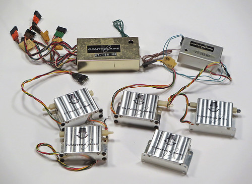 controlaire rx's and servos