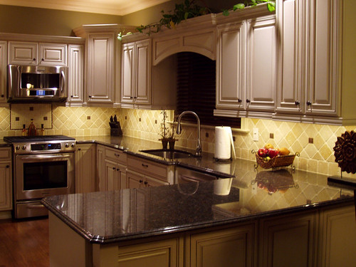 Durango Stone Backsplash Kitchen