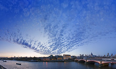 (Jon Cartwright) Tags: panorama london thames clouds river nikon southbank blackfriars nikkor embankment blackfriarsbridge 2470 d700