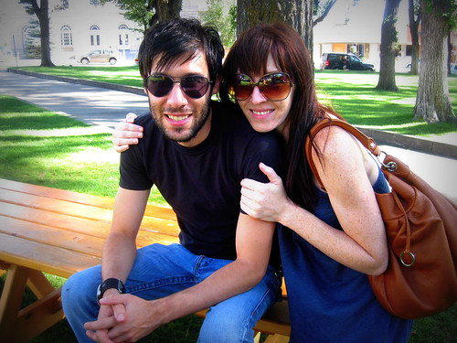 Sarah and Andy in Prescott <3
