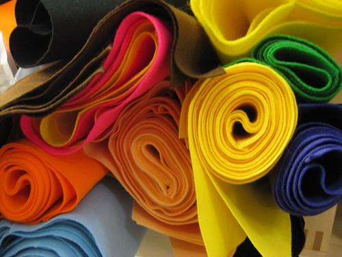 Felt Fabric Uses Used in Fabric Buttons Felt