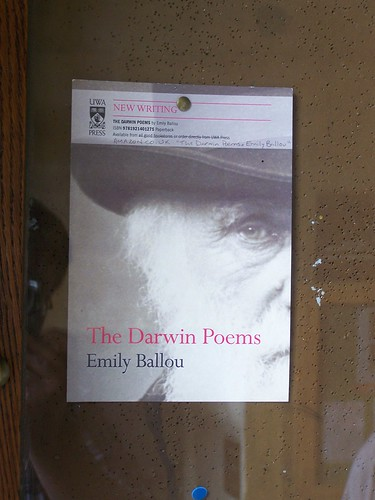 The Darwin Poems by Emily Ballou, Christs College, University of Cambridge