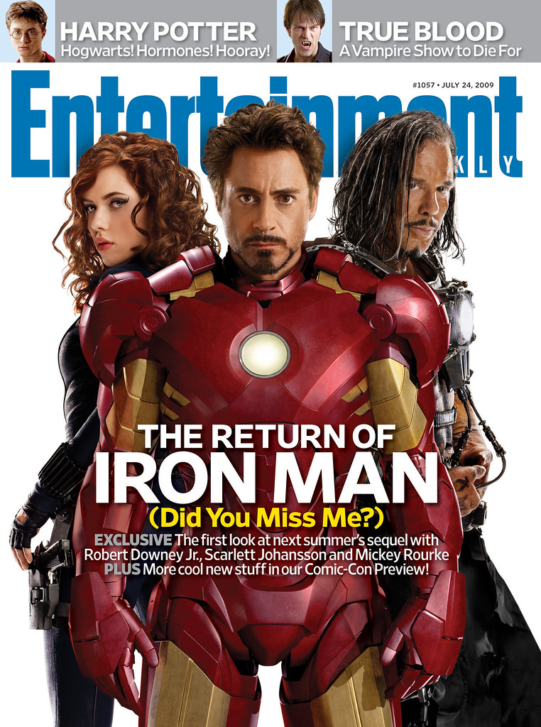 Iron Man 2 revista