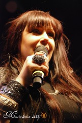 Tiffany (Music4mix) Tags: california red summer portrait music usa standing radio mall hair him saw los concert alone angeles photos song 10 cd candid think picture july romance been queen renee teen autograph 80s hollywood singer there playboy were now tiffany darwish 2009 midsommar citywalk sommar couldve i music4mix
