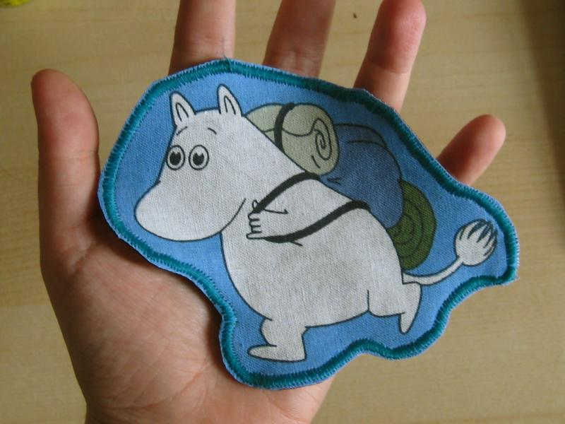 moomin badge