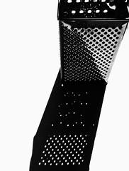 Shadows (dubbelt_halvslag) Tags: shadow blackandwhite bw white black detail art monochrome metal contrast canon sweden schweden konst sverige scandinavia metall grater refelction reflektion skugga svartvit kitchenutensil detalj strömstad strømstad matlagning küchengerät g10 rivjärn rivjern kjøkkenredskap konstnärligt köksredskap küchenreibe kjøkkenrasp