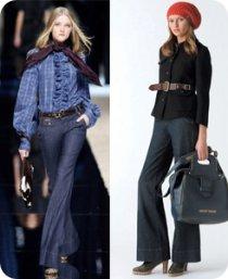 Moda, vuelven los jeans anchos