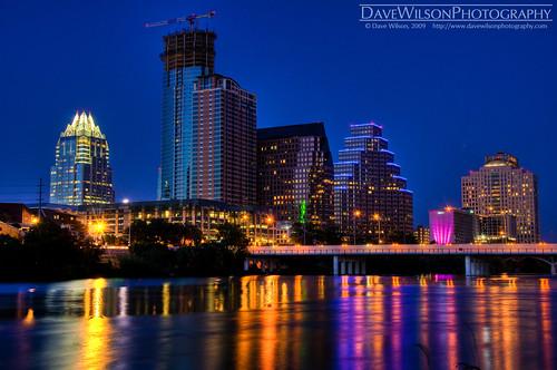 Austin Skyline at Dusk