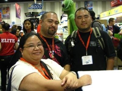 Characters @ SDCC 2009