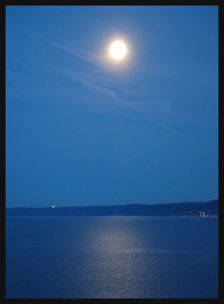 Moonlight over Camano Island