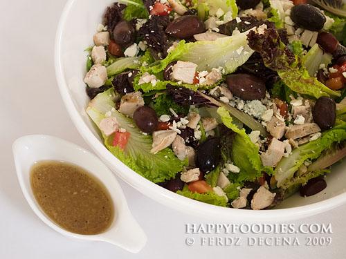 House Salad (P285 Single Serve, P580 to share)