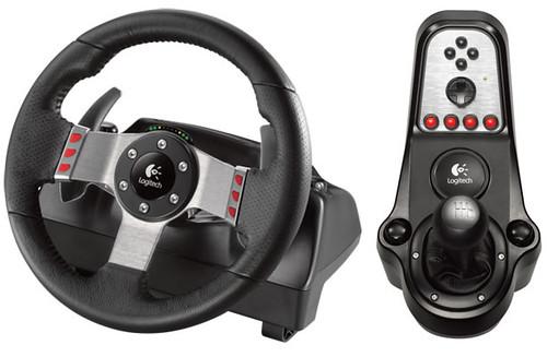 Logitech G27 racing wheel: naujausias žaidimų vairas