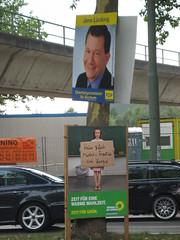 Wahlplakat: Jens Lücking (FDP) / Bündnis '90 / Die Grünen