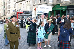 Clan Johnstone at The Clan Parade - The Gathering 09