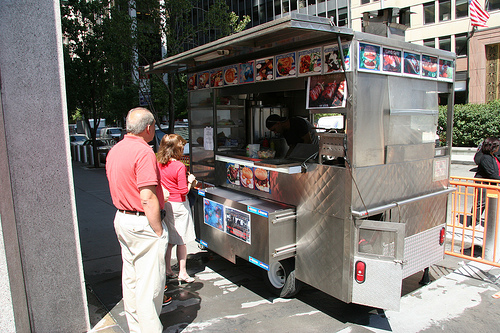 Downtown Lunch: Michael's Cart