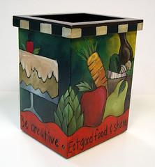 Sticks о  Utencil Box, BOX015-Celebrate Tradition Back